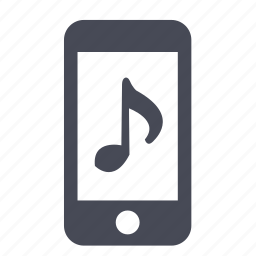 audio, iphone, ipod, listen, mobile, music, song icon