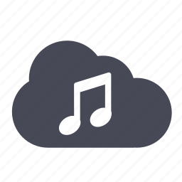 cloud, itunes, listen, music, play, playing, song icon
