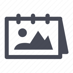 image, photo, picture, pictures, table icon