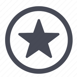 bookmark, favorite, favorites, important, new, star icon