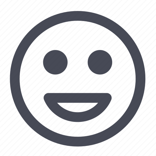 Smiley, happy, emoticon, smile, face, sad icon