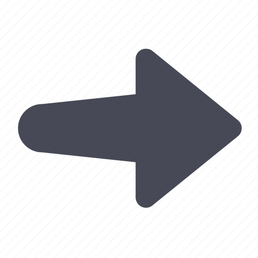 arrow, export, import, move, navigate, right icon
