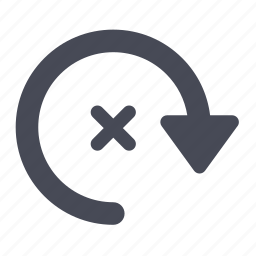 arrow, left, right, rotate icon