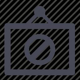broken, error, image, missing, no, photo, unavailable icon