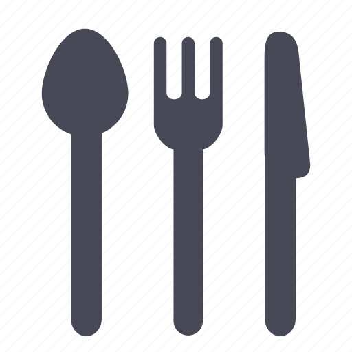 eat, eating, food, fork, kitchen, knife, restaurant icon