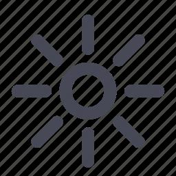 brightness, light, rain, summer, sun, sunny, weather icon