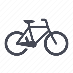 bicycle, bike, cycling, riding, transportation icon