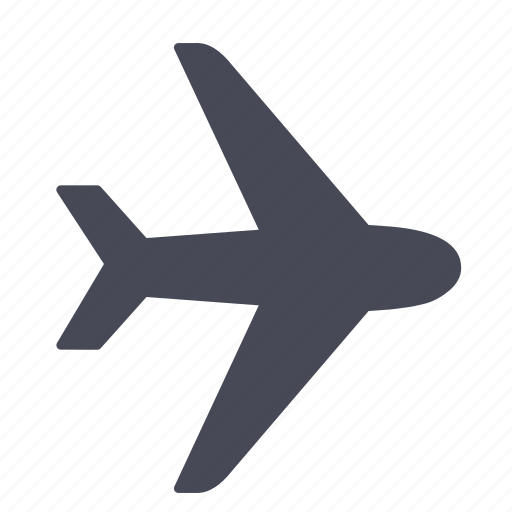 Air, airplane, airport, flight, plane, transportation, travel icon - Download on Iconfinder
