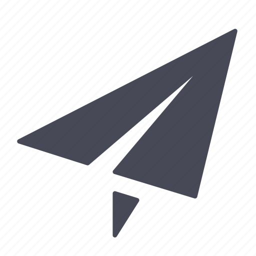 mail, paper, plane, send, sent icon
