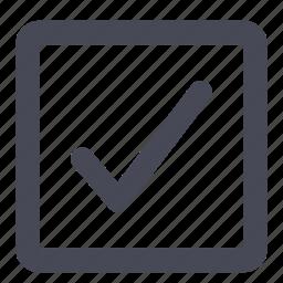 accept, check, checkbox, ok, success, tick, yes icon