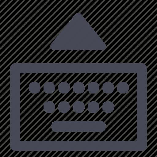 attach, i/o, input, keyboard, keys, typing icon