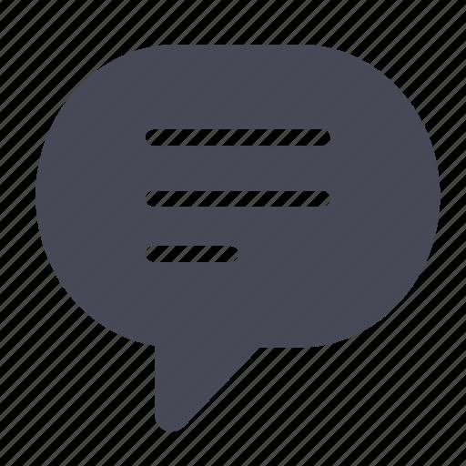 bubble, chat, comment, comments, message, speech, talk icon