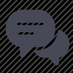 bubble, chat, comment, comments, conversation, message, talk icon