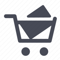 basket, buy, cart, checkout, full, shopping, webshop icon