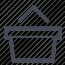 basket, buy, cart, checkout, shop, shopping, webshop icon