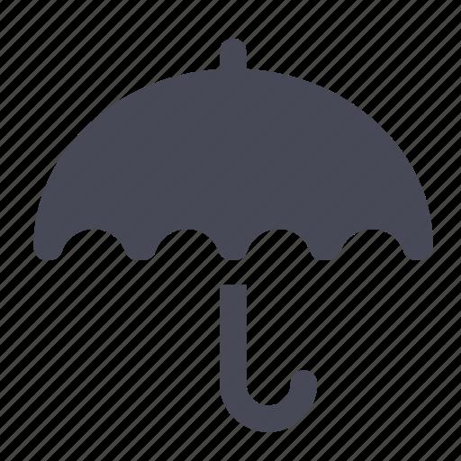 cloud, rain, umbrela, umbrella, weather icon