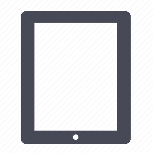 apple, cover, device, ipad, mobile, tablet icon