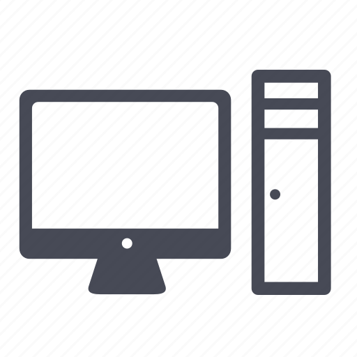computer, desktop, mac, monitor, pc, screen icon