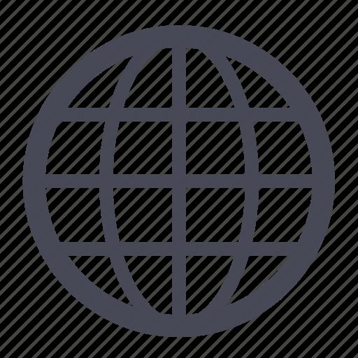 earth, global, globe, international, internet, planet, world icon