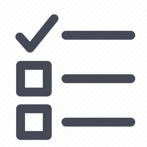 bullets, checkbox, do, list, to icon