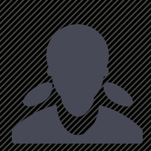avatar, female, user, woman icon