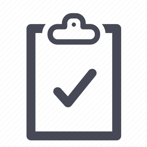 clipboard, do, document, list, to icon
