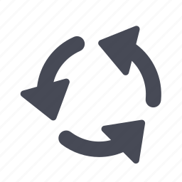 arrows, rotate, sync icon