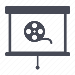 film, movie, play, presentation, video icon