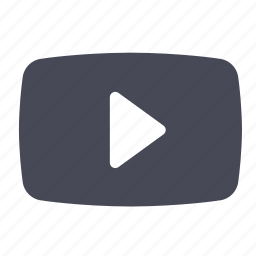 film, movie, play, player, stream, video, youtube icon