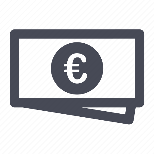 cash, currency, euro, money, price, shopping icon