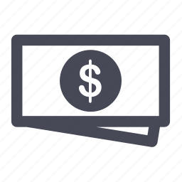 cash, coin, dollar, finance, money, price, sell icon