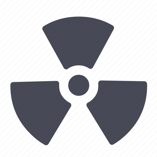 explosion, nuclear, radiation, radioactive, war icon