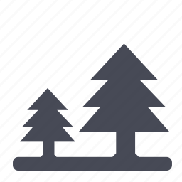 forest, nature, park, tree, trees, wood icon