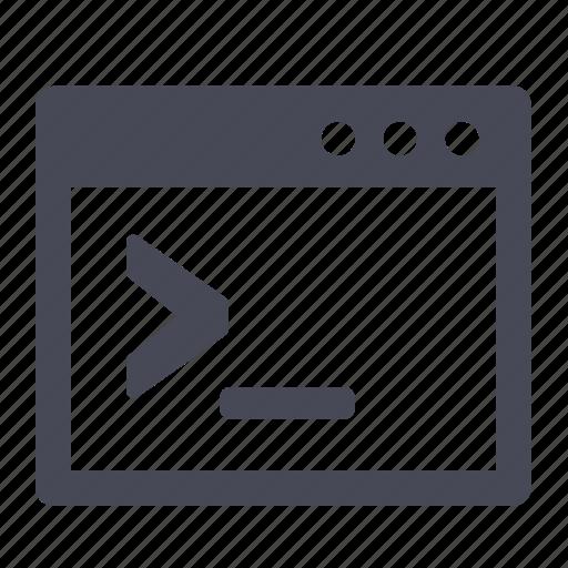 code, script, shell, unix icon