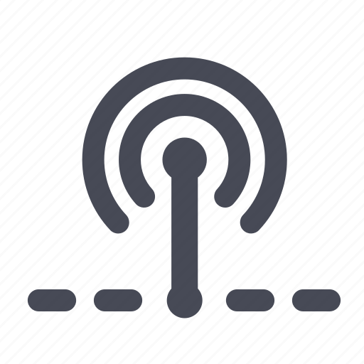 antenna, connection, internet, network, router, signal, wireless icon