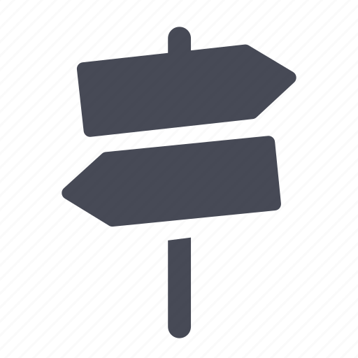 post, sign icon