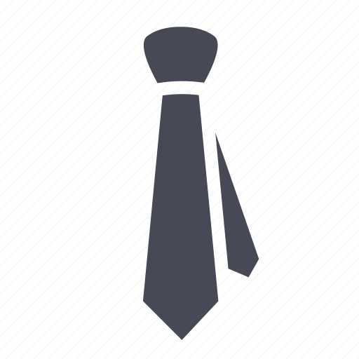 business, dress, tie icon