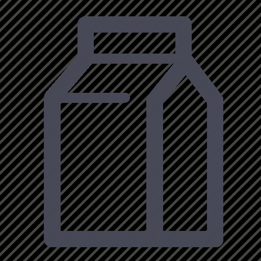 milk, pack, tetra icon