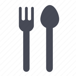 eat, food, fork, restaurant, spoon icon