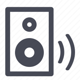 audio, music, sound, speaker, speakers, volume icon