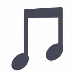 audio, music, note, playing, song icon
