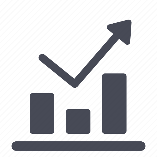 analytics, chart, finance, graph, growth, report, up icon
