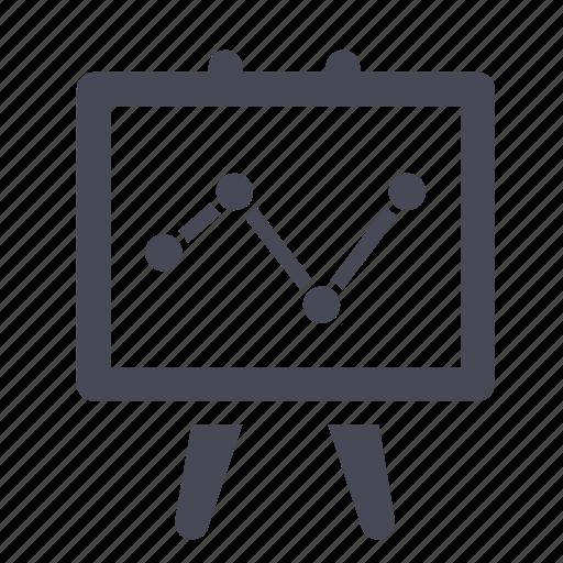 analytics, chart, graph, line, marketing, report, statistics icon