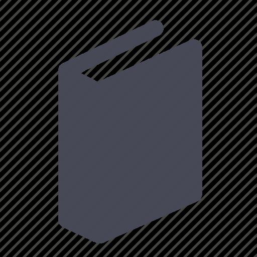 book, bookmark, manual, reading icon