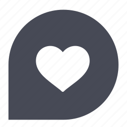 bookmark, favorite, heart, like, love, vote icon