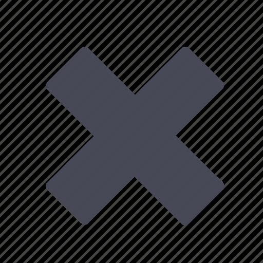 alert, delete, error, exit, remote, remove, warning icon