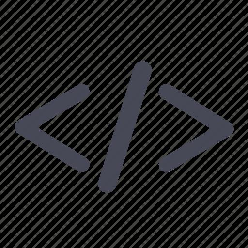 code, html, script, shell icon