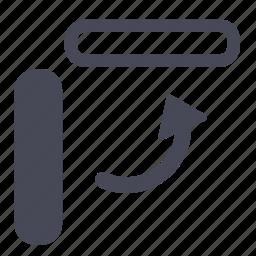 arrow, rotate icon