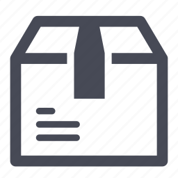 box, delivery, package, product, shipment, transportation icon