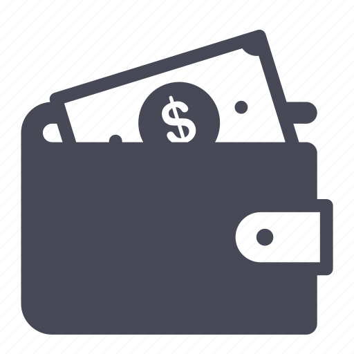 cash, dollar, money, shopping, wallet icon